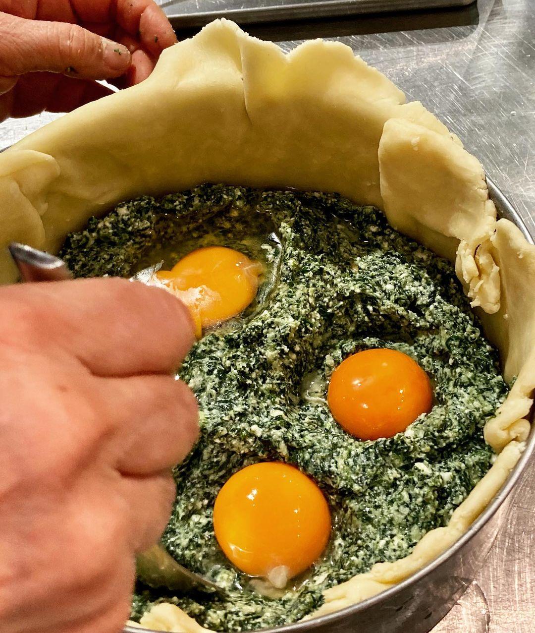 レッスンレポート:「イタリア、マンマの台所」 リグーリアの春料理(2021.03.27)