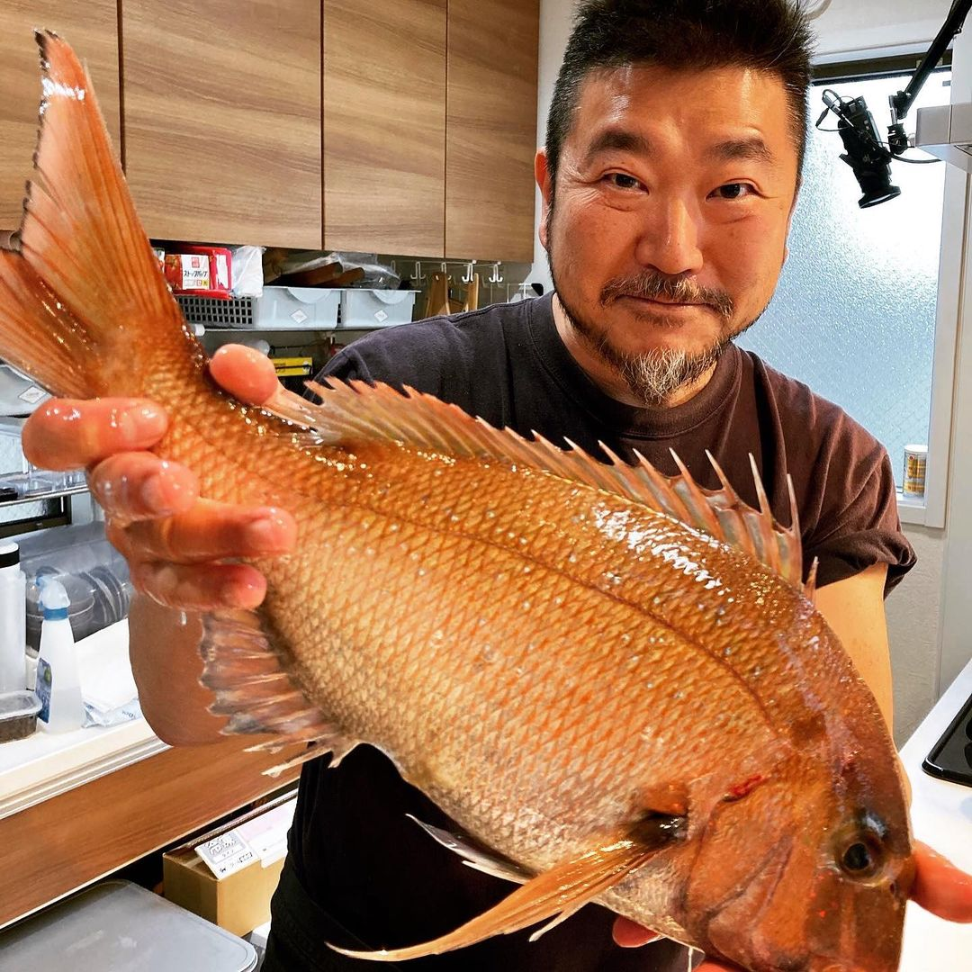 レッスンレポート:ウエカツ、オンライン魚塾。春の真鯛とハマグリと。(2021.03.31)