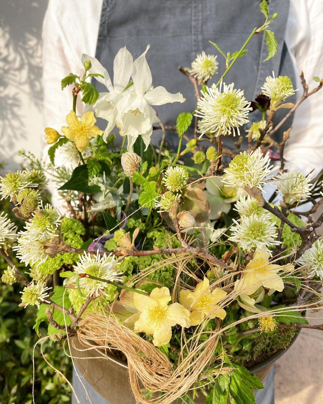 kuboぱんさんから、うれしい花束。(2021.03.31)