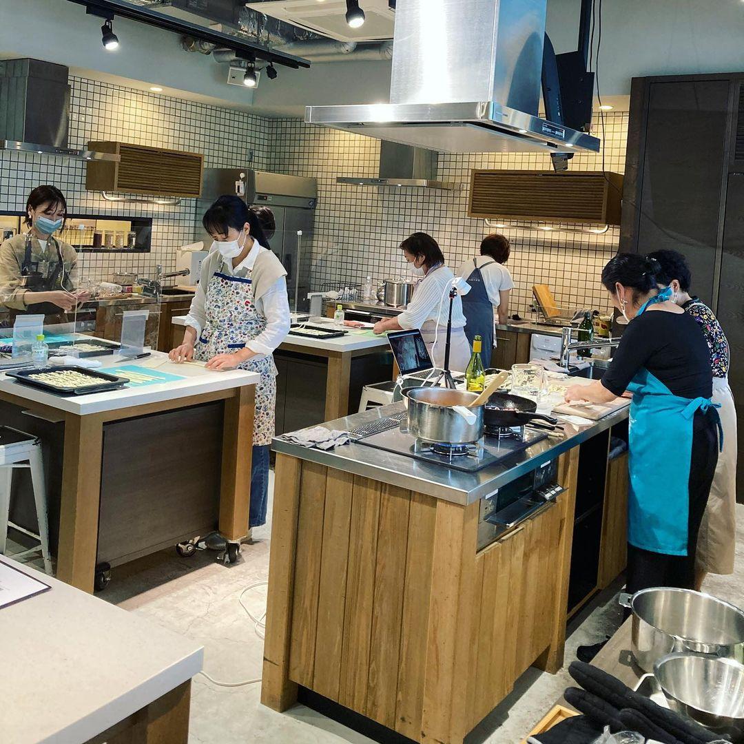 レッスンレポート:長本和子さん「イタリア、マンマの台所」、中部イタリアのパスタ(2021.05.17)
