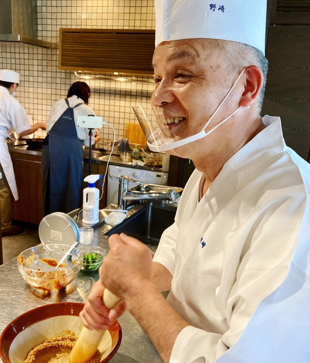 レッスンレポート:分とく山・野﨑洋光さんが伝える「家庭料理」(2021.05.25)