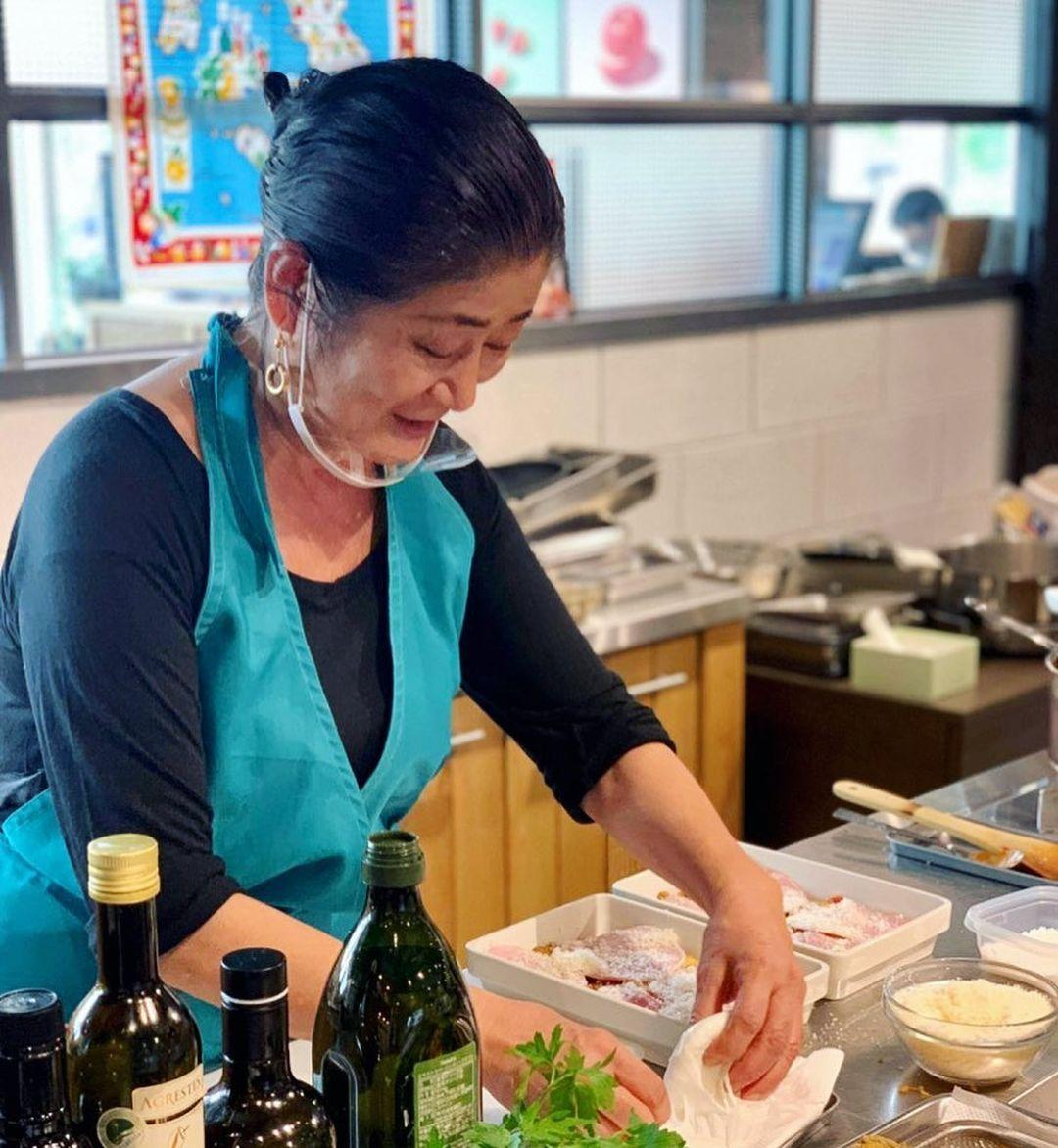 レッスンレポート:長本和子さん「イタリア、マンマの台所」南イタリア、プーリア州の夏料理(2021.06.22)