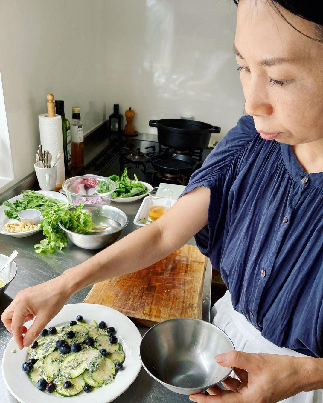 レッスンレポート:中川たまさん たまさんの、ハーブ料理(2021.08.01)