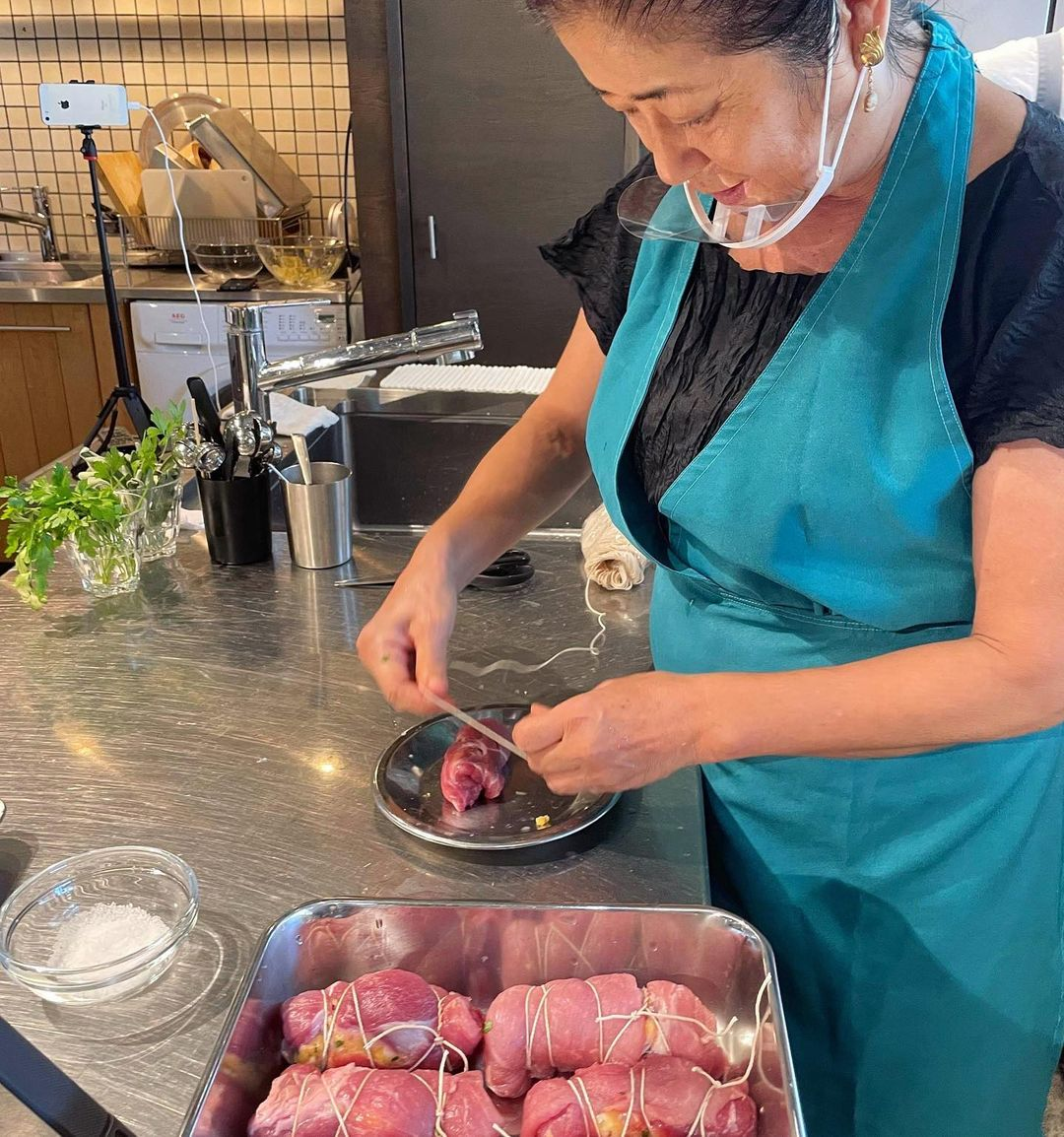 レッスンレポート:長本和子さん「マンマの台所」秋晴れの日に、北イタリアの秋料理(2021.09.22)